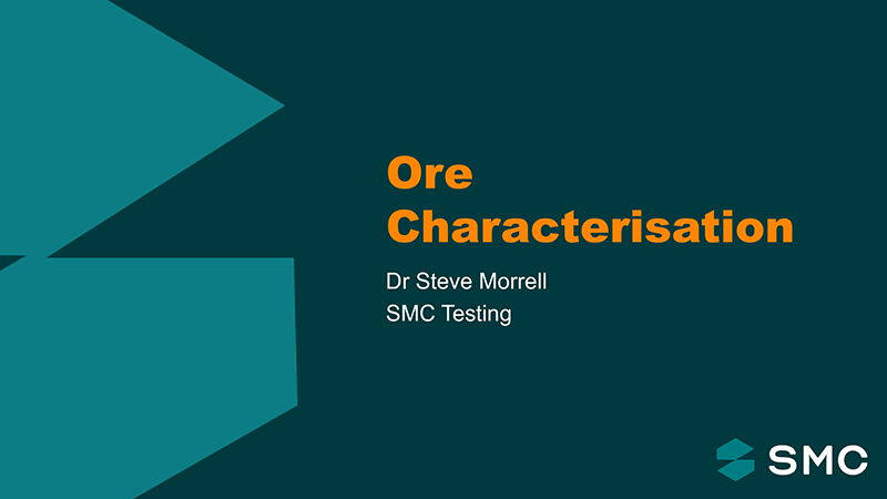Session 1 - Ore Characterisation