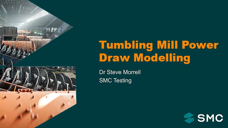Session 6 - Tumbling Mill Power Draw Modelling