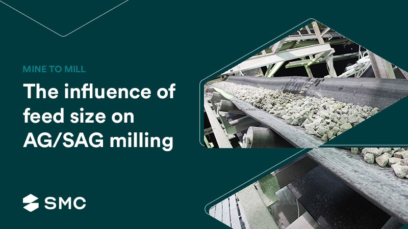 Mine-to-Mill: The influence of feed size on AG/SAG milling